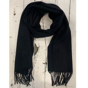 Charter Club black cashmere scarf